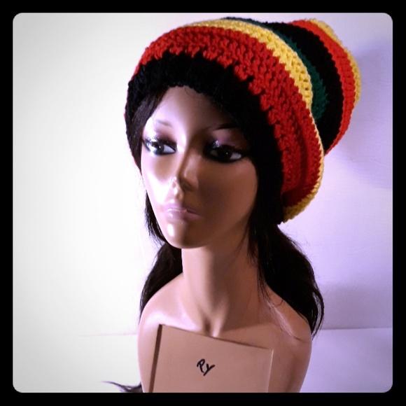 Handmade Accessories Crochet Rasta Hat Poshmark